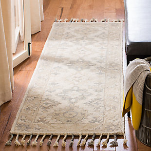 "Accessory 2'3"" x 7' Runner Rug, Light Gray, large"