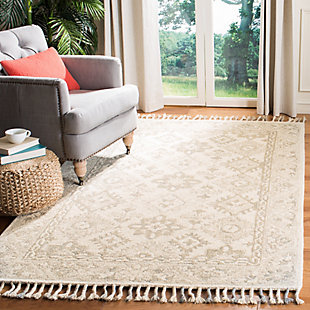 Accessory 5' x 8' Area Rug, Light Gray, rollover