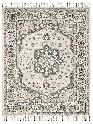 Accessory 8' x 10' Area Rug, Light Gray, large