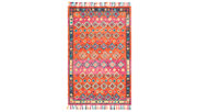 Accessory 5' x 8' Area Rug, Orange/Fuchsia, large