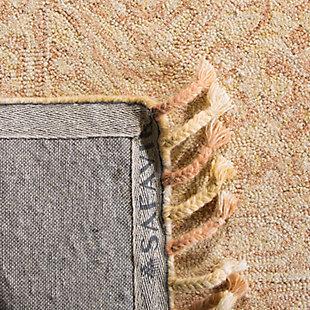 Accessory 5' x 8' Area Rug, Ivory/Blush, large