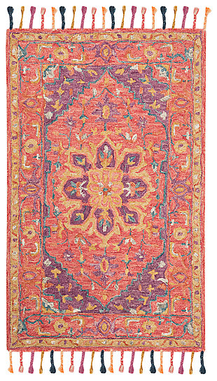 Accessory 3' x 5' Area Rug, Pink/Violet, large