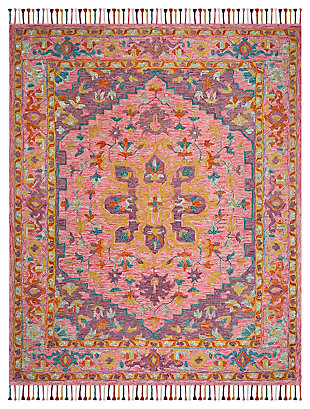 Accessory 8' x 10' Area Rug, Pink/Violet, large