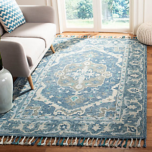 Accessory 8' x 10' Area Rug, Dark Blue/Gray, rollover