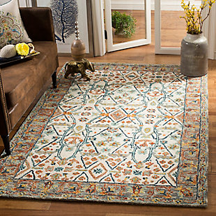 Accessory 5' x 8' Area Rug, Beige/Brown, rollover
