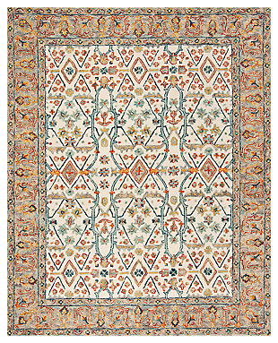 Accessory 8' x 10' Area Rug, Beige/Brown, large