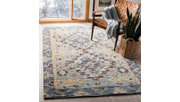 Accessory 5' x 8' Area Rug, Blue/Beige, rollover