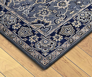 Home Accents 8' x 10' Rug, Blue, rollover