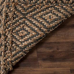 Natural Fiber 5' x 8' Area Rug, Beige/Natural, large