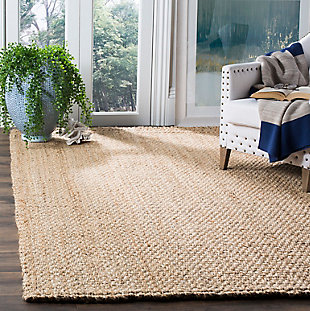 Natural Fiber 5' x 8' Area Rug, Beige/Natural, rollover