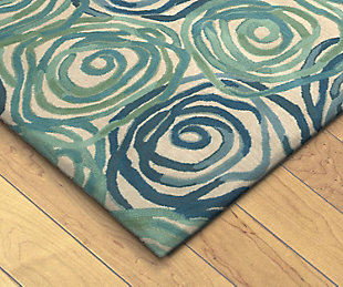 "Home Accents 3'6"" x 5'6"" Rug, Blue, rollover"