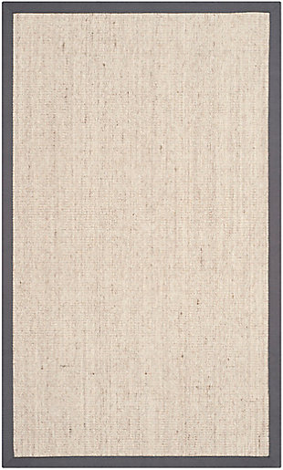 Natural Fiber 5' x 8' Area Rug, Beige/Natural, large