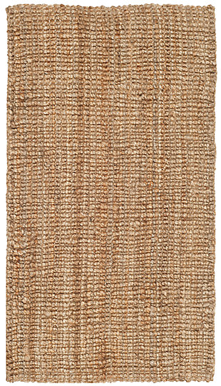 Natural Fiber 3' x 5' Doormat, Beige/Natural, large