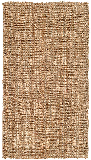 Natural Fiber 3' x 5' Doormat, Beige/Natural, rollover