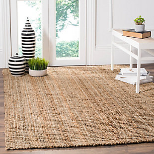 "Natural Fiber 5' x 7'6"" Area Rug, Beige/Natural, rollover"