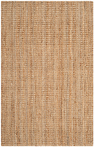 "Natural Fiber 5' x 7'6"" Area Rug, Beige/Natural, large"