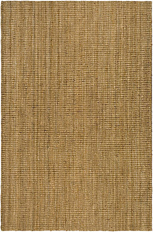 Natural Fiber 6' x 9' Area Rug, Beige/Natural, large