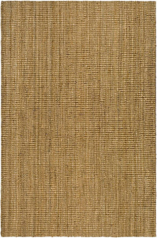 Natural Fiber 6' x 9' Area Rug, Beige/Natural, rollover