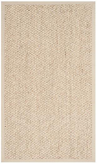 Natural Fiber 3' x 5' Doormat, Marble, rollover
