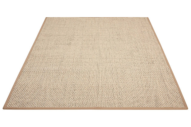 Accessory Beechwood Natural 8'x 10'Area Rug, Natural, large