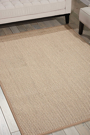 Accessory Beechwood Natural 8'x 10'Area Rug, Natural, rollover