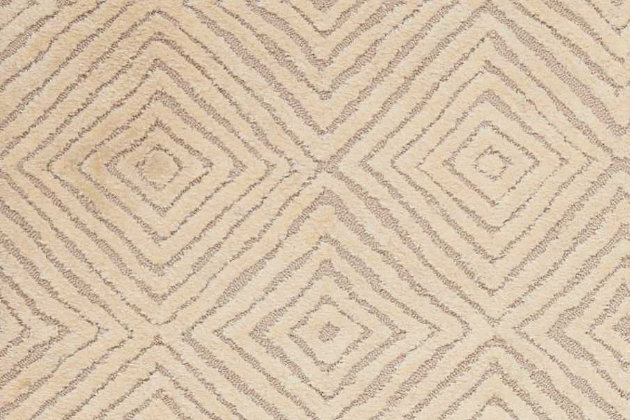 """Accessory Deco Mod Taupe/Ivory 3'9"""" x 5'9"""" Area Rug, Natural, large"""
