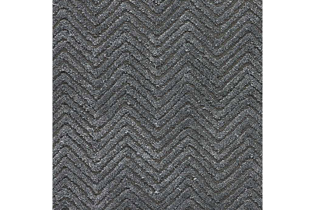 """Accessory Deco Mod Grey  2'3"""" x 7'6"""" Runner, Charcoal, large"""