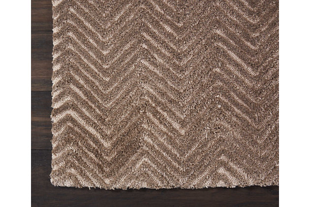 """Accessory Deco Mod Taupe 2'3"""" x 7'6"""" Runner, Taupe, large"""