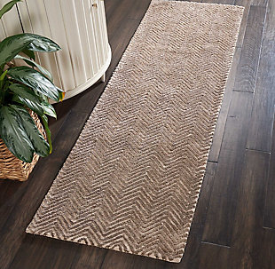 """Accessory Deco Mod Taupe 2'3"""" x 7'6"""" Runner, Taupe, rollover"""