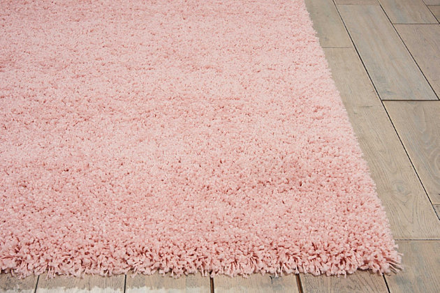"Accessory Amore Blush 3'11"" x 5'11"" Area Rug, Blush Pink, large"