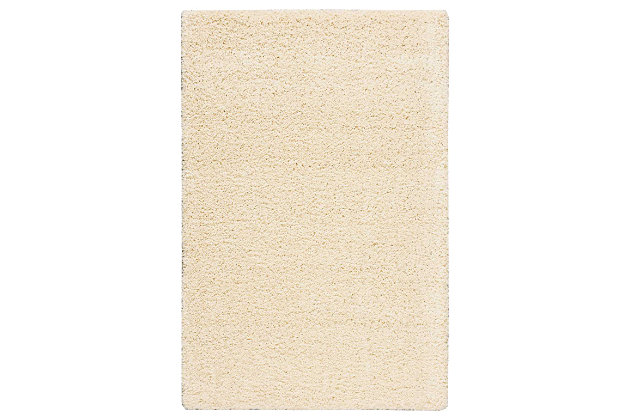 "Accessory Amore Cream 3'11"" x 5'11"" Area Rug, Natural, large"