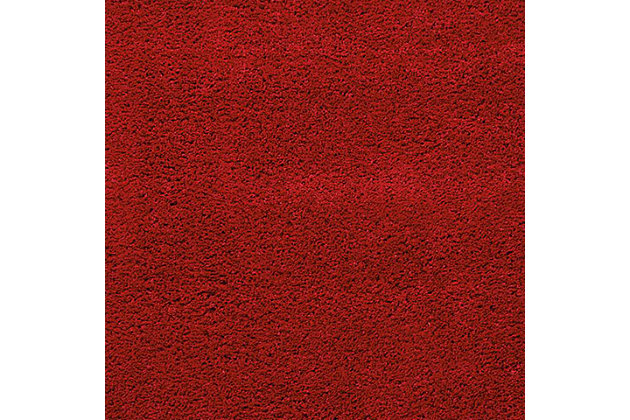 "Accessory Amore Red 3'11"" x 5'11"" Area Rug, Sangria, large"
