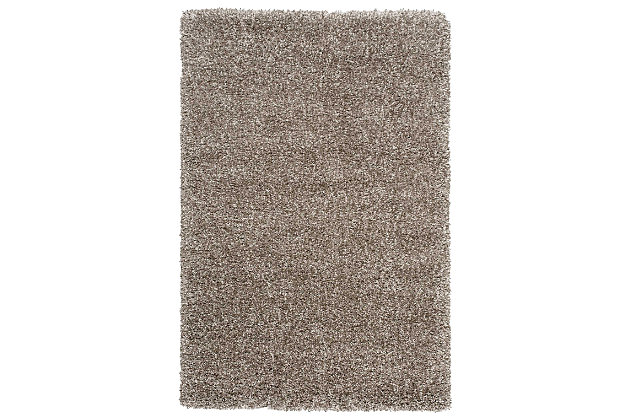 "Accessory Amore Stone 3'11"" x 5'11"" Area Rug, Gray, large"