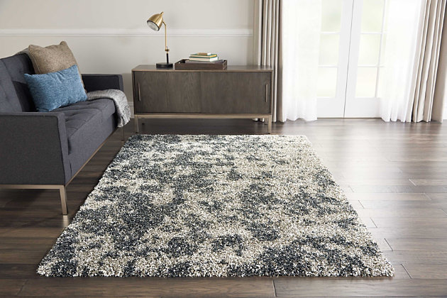 "Accessory Amore Granite 3'11"" X 5'11"" Area Rug, Granite, large"