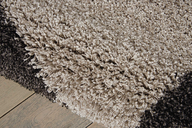"""Accessory Amore Silver/Charcoal 3'11"""" x 5'11"""" Area Rug, , large"""