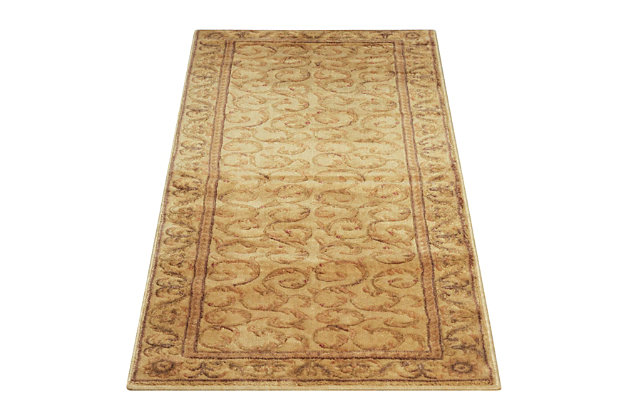 "Accessory Somerset Ivory 2'x 5'9"" Runner, Beige, large"