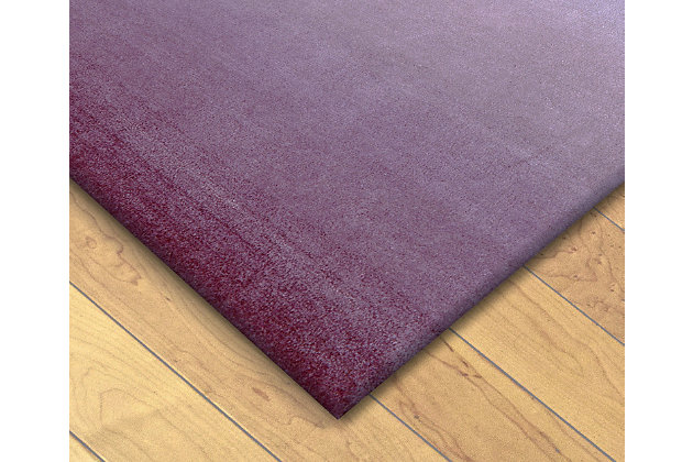 Home Accents 5' x 8' Rug, Purple, large