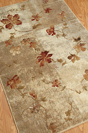 """Accessory Somerset Multicolor 3'6"""" x 5'6"""" Area Rug, Natural, large"""