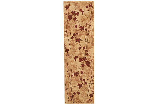 "Accessory Somerset Latte 2'3"" x 8'Runner, Latte, large"