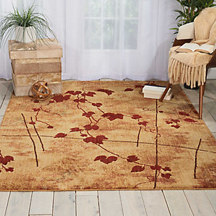 "Accessory Somerset Latte 3'6"" x 5'6"" Area Rug, Latte, rollover"