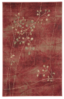 """Accessory Somerset Flame 5'3"""" X 7'5"""" Area Rug, Flame, large"""