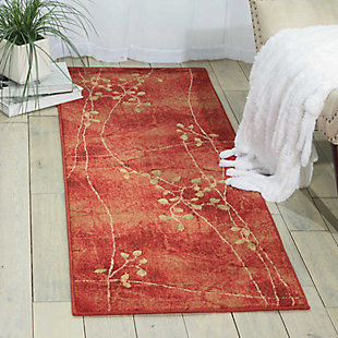 "Accessory Somerset Flame 5'3"" x 7'5"" Area Rug, Flame, rollover"