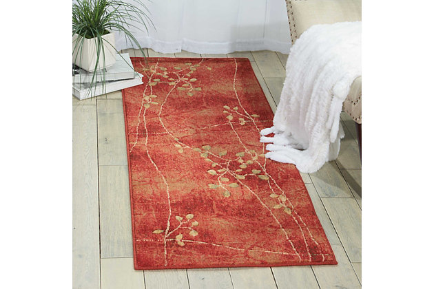 "Accessory Somerset Flame 5'3"" x 7'5"" Area Rug, Flame, large"