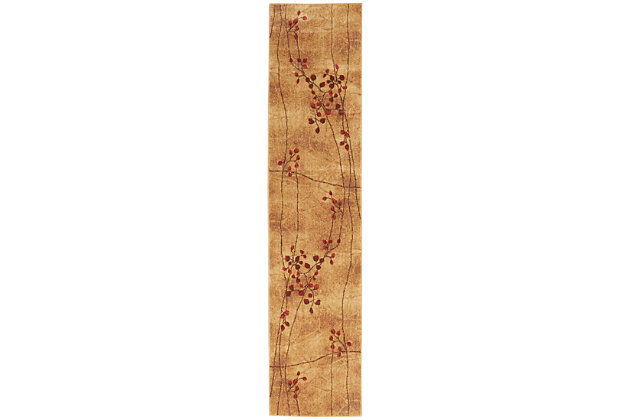 "Accessory Somerset Latte 2'3"" x 10'Runner, Latte, large"