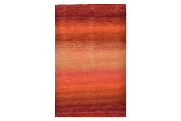 Home Accents 5' x 8' Rug by Ashley HomeStore, Red