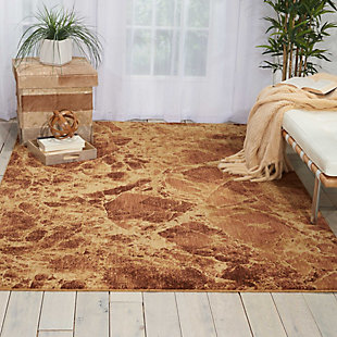 """Accessory Somerset Latte 3'6"""" x 5'6"""" Area Rug, Latte, rollover"""