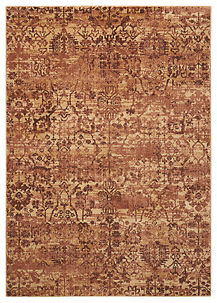 "Accessory Somerset Brown 5'3"" x 7'5"" Area Rug, Latte, large"
