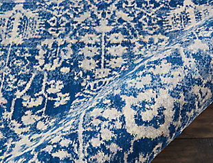 """Accessory Somerset Navy 2'3"""" x 10'Runner, Navy, large"""