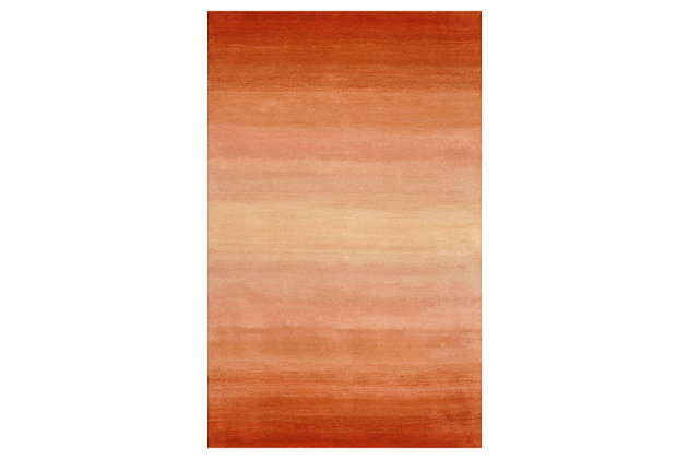 Orange Home Accents 5' x 8' Rug by Ashley HomeStore