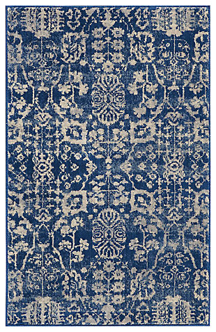 "Accessory Somerset Navy 2'6"" x 4' Accent Rug, Navy, large"